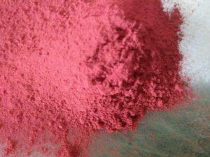 Kínai Cinóber vörös pigment