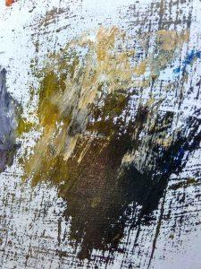 Festőkéssel kialakított rusztikus, gazdag tónus árnyalatok, véletlenszerű foltok