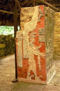 Palenque-i lelet – A Vörös Királynő sírja – i. sz. 600-700 körül.