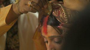 Hindu nő – Sindoor szertartása