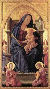 Masaccio – Szűz Mária – 1426
