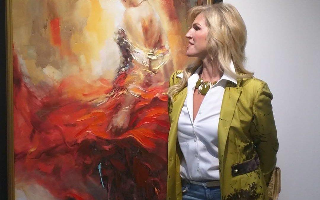 Élő Festőművészek 4. Anna Razumovskaya