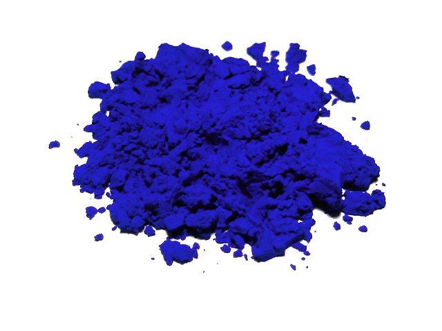 Az ultramarin kék története