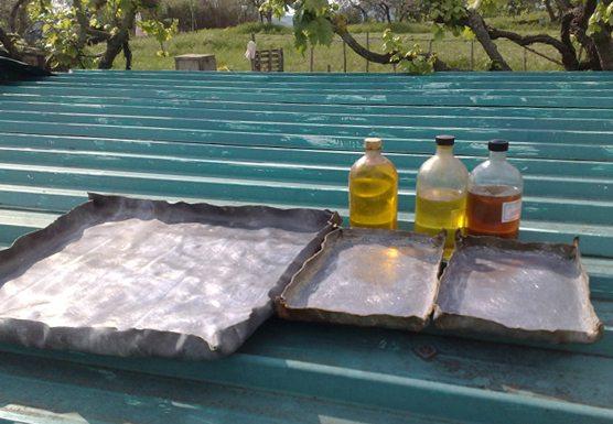 Napon sűrített lenolaj készítése házilag, oktató videó