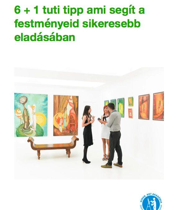 Ingyenes e-könyv festmény eladáshoz
