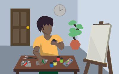 KINVA ART – Hogyan kezdődött az egész? Fejezetek egy festő életéből 05. rész