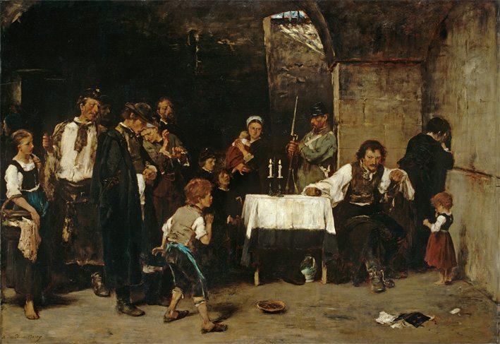 Munkácsy Mihály Müncheni és Düsseldorfi korszaka és az Aszfalt felfedezése