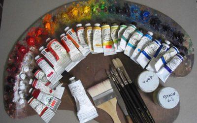 Karácsonyi Akció a KINVA ARTON! – 12. nap A festészet Anyagai és Eszközei Online Tanfolyam leárazva