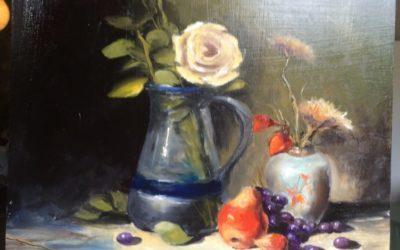 Karácsonyi Akció a KINVA ARTON! – 19. nap Virágcsendélet festő Online Festőtanfolyam leárazva
