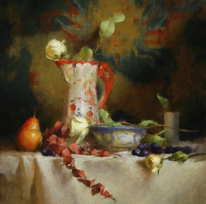 Hamarosan egy új online festőtanfolyam indul, Jön, a Realista Asztali csendélet festő tanfolyam!