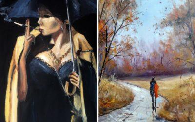 Karácsonyi Akció a KINVA ARTON! – 07. nap Két festészeti oktatóvideó leárazva