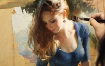 Élő Festőművészek 8. – Vladimir Volegov Romantikus Realista, Impresszionista festőművész