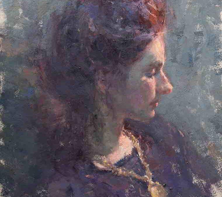 27. Lecke Minimál paletta 2. videó Női Portré festése (Fest. Korl. Palett. 2.0)
